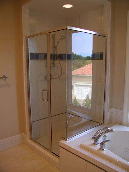 Semi-Frameless Showers